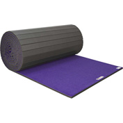 "EZ Flex Sport Mats Cheerleading/Gymnastics Roll Mats 42' x 6' x 3/4"" Purple - 207R-PP"