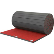 "EZ Flex Sport Mats Cheerleading/Gymnastics Roll Mats 42' x 6' x 3/4"" Red - 207R-RD"