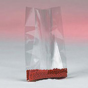 "Gusseted Polyethylene Bag 24"" x 12"" 4 Mil 250 Pack"