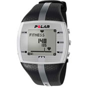 Polar® FT7M Heart Rate Monitor Watch for Male, Black/Silver