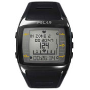 Polar® FT60M Heart Rate Monitor Watch, Black/White