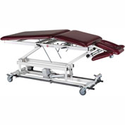 "Electric Hi-Low Treatment Table with Casters, 5-Section, 76""L x 27""W x 18"" - 37""H"