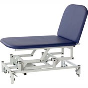 """Electric Hi-Low Bobath Table with Casters, 2-Section, 77""""L x 42""""W x 17"""" - 37""""H"""
