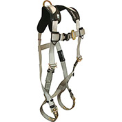 FallTech® 7008T Titanium® 1-D Full Body Harness, 1 Back D-ring, Size UniFit