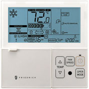 Friedrich Wall Mounted Programmable Thermostat DWC1, For Ductless Split Systems