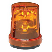 Federal Signal 121S-120A Rotating light, 120VAC, Amber