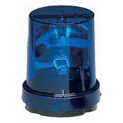 Federal Signal 121S-120B Rotating light, 120VAC, Blue