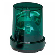 Federal Signal 121S-120G Rotating light, 120VAC, Green