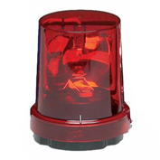 Federal Signal 121S-120R Rotating light, 120VAC, Red