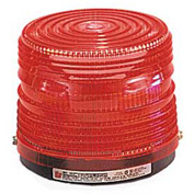 Federal Signal 141ST-012R Strobe light, 12VDC, Red