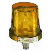 Federal Signal 225-120A Rotating Light, 120VAC, Amber