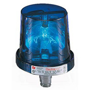 Federal Signal 225-120B Rotating Light, 120VAC, Blue