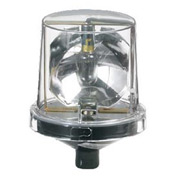 Federal Signal 225X-120C Rotating Light, 120VAC, Hazardous Location, Clear