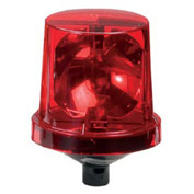 Federal Signal 225X-120R Rotating Light, 120VAC, Hazardous Location, Red
