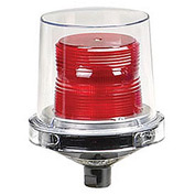 Federal Signal 225XL-024R Flashing LED light, hazardous location, 24VAC/DC, Red