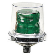Federal Signal 225XL-120-240G Flashing LED light, hazardous location, 120-240VAC, Gr