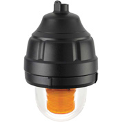 Federal Signal 27XL-024A-MOD Explosion-proof flashing light, LED, 24VDC, Amber,Mounting Kit Separate