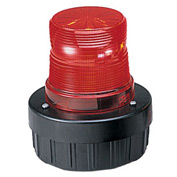 Federal Signal AV1ST-120R Light/sounder combination, strobe, 120VAC, Red