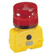Federal Signal BPL26ST-R Strobe light, battery-poweRed 12VDC, Red