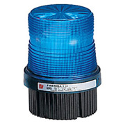 Federal Signal FB2PST-012-024B Strobe, 12-24VDC, pipe/surface mount, Blue