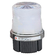 Federal Signal FB2PST-012-024C Strobe, 12-24VDC, pipe/surface mount, Clear