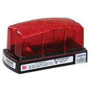 Federal Signal LP1-120R Strobe, 120VAC, Red