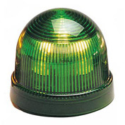 Federal Signal LP2-120G Steady Burn Light, 120VAC, Green