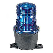 Federal Signal LP3P-120B Strobe, pipe mount, 120VAC, Blue