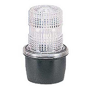 Federal Signal LP3T-012-048C Strobe, T-mount, 12-48VDC, Clear