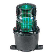 Federal Signal LP3T-012-048G Strobe, T-mount, 12-48VDC, Green
