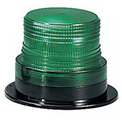 Federal Signal LP6-120G Strobe, 120VAC, Green