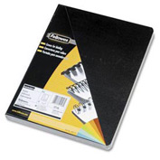 "Fellowes® Executive Presentation Covers, 8-3/4"" x 11-1/4"", Black, 50/Pk - Pkg Qty 8"