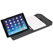 """Fellowes® 8201101 MobilePro Series Deluxe Folio for iPad Air/Air 2/Pro 9.7"""", Black"""
