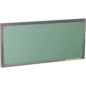Filtration Group Air Filters FF-105010X20X0.5 10X20X0.5 Washable, Aluminum Frame W/25 PPI Foam Media