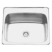 "Franke LBS7312P-1/4, Commercial Sink 3.5"" Waste 4 Hole"