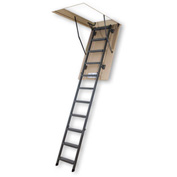 FAKRO Insulated Folding Metal Attic Ladder, 3 Sections - 66867