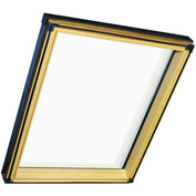 "Fakro 68762 Fixed Skylight FX-504, 38""Lx32""Wx10""H, LAM Glass, Wood"