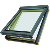 "Fakro 68858 Manual Venting Skylight FV-306, 46""Lx24""Wx10""H, LAM Glass, Wood"