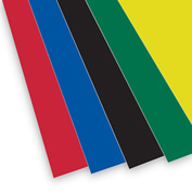 "Flipside Products 3/16"" Foam Board Sheets, 30""W x 20""H, Assorted Colors, 25/Pk"