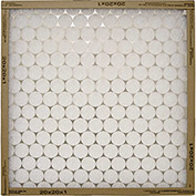 "Flanders 10155.012025 Flat Panel EZ Flow Standard Grade Furnace Filter, 25"" x 20"" x 1"", 12/Pack - Pkg Qty 12"