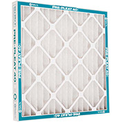 """Flanders 80055.012024 40 Standard Quality Pleated LPD Panel Filters, 24"""" x 20"""" x 1"""", 12/Pack - Pkg Qty 12"""