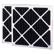 "Flanders 81255.012025 Pre Pleat Air Filter, 20"" x 25"" x 1"", MERV 6 - Pkg Qty 12"