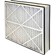 "Flanders 82655.052025 Disposable Air Filter Cartridge, 25"" x 20"" x 5"", 2/Pack - Pkg Qty 2"
