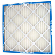 "Flanders 90013.01102 Pre Pleat® M13 Pleated Air Filter, 10"" x 20"" x 1"", MERV 13 - Pkg Qty 12"