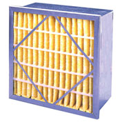 "Flanders PRP85G2406 Rigid Air Filter, 12"" x 24"" x 6"", MERV 13 - Pkg Qty 4"