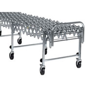 NestaFlex® 22618008S Flexible Conveyor - Steel Skate Wheels - Steel Ball Bearings 226 Lb./ft.