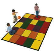 Children Educational Rugs GRID 11X8