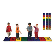 Children Educational Rugs LINE UP 3X8