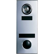 Auth Door Chime w/1 Way Wide Angle Viewer, Apartment ID & Name Plate - Bronze