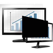 "Fellowes® PrivaScreen Blackout Privacy Filter for 26"", LCD, 16:10"
